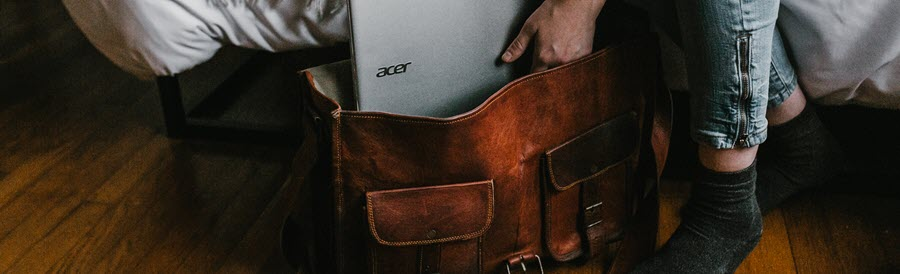 What's best? Briefcase or messenger bag?